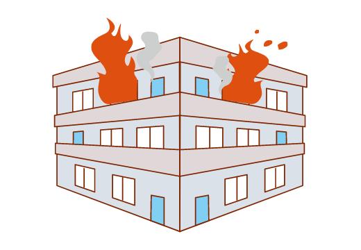 地震による火災