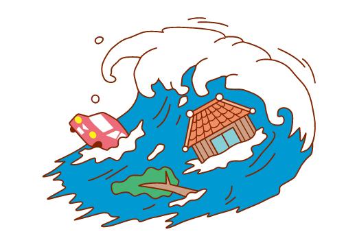 地震による津波